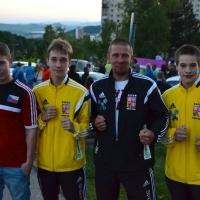 Jakub Šda CZ vs. Michal Chludil BC Baník Most CZ