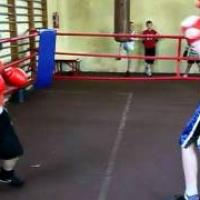 Trénink boxu Jakub Šuda v Polsku 16.4.2011 2.díl