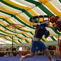 První zápasy za německý tým Box Gym Dreger